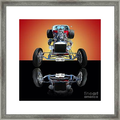 1923 Ford Rat Tee T Bucket Framed Print by Jim Carrell