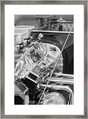 1923 Ford T-bucket Engine 2 Framed Print by Jill Reger