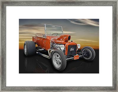 1923 Ford T-bucket - The Munsters Framed Print by Frank J Benz