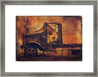1923 International Truck  Framed Print