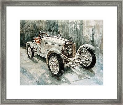 1923 Mercedes Ps Sport- Zweisitzer Framed Print
