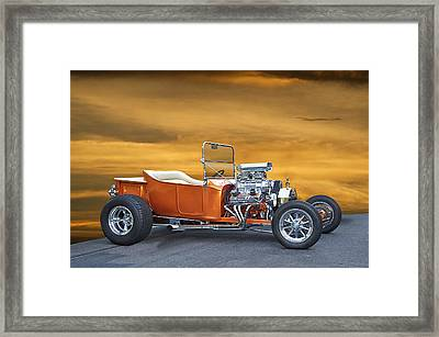 1923 Model T Roadster  Framed Print