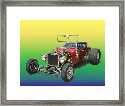 1923  Ford T Bucket  Framed Print by Jack Pumphrey