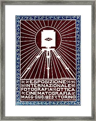 1923 Turin Italy Photography Exposition Framed Print by Historic Image