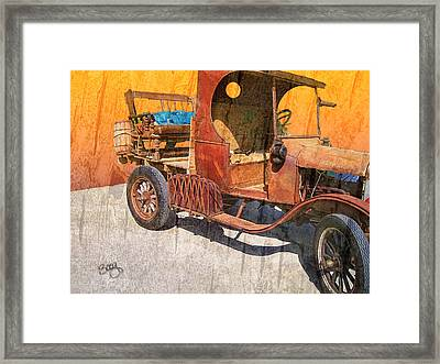1925 Ford Truck Framed Print by Larry Bishop