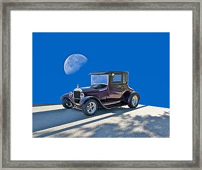 1926 Ford Model T Coupe Framed Print by Dave Koontz