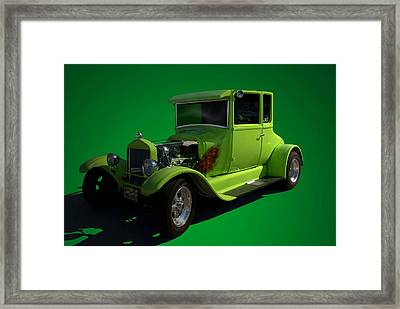 1926 Ford Model T  Hot Rod Framed Print by Tim McCullough