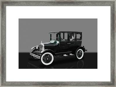 1926 Ford Model T Sedan Framed Print by Frank J Benz