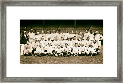 1926 New York Yankees Framed Print by Mountain Dreams