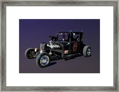 1927 Ford High Top Model T Rat Rod  Framed Print