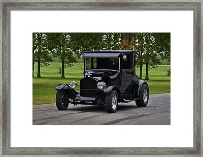 1927 Ford Model T High Top Hot Rod Framed Print by Tim McCullough