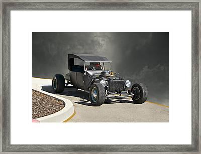 1927 Ford Model T Roadster Framed Print by Dave Koontz