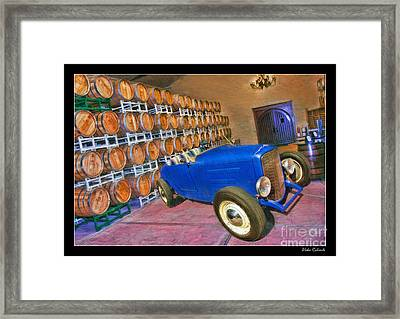 1927 Ford Roadster Framed Print by Blake Richards