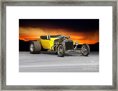 1927 Ford 't Bucket' Framed Print by Dave Koontz