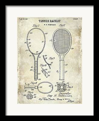Clay Court Framed Prints