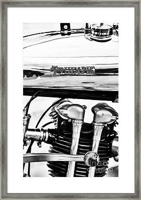 1927 Triumph Tt Racer Motorcycle  Framed Print