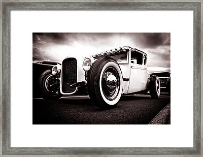 1928 A Coupe Framed Print by Phil 'motography' Clark