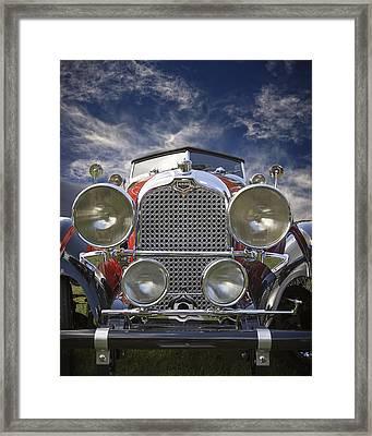 1928 Auburn Model 8-88 Speedster Framed Print