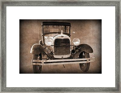 1928 Ford Model A Coupe Framed Print
