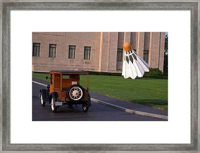 1928 Ford Model A Huckster Pickup Truck Framed Print by Tim McCullough