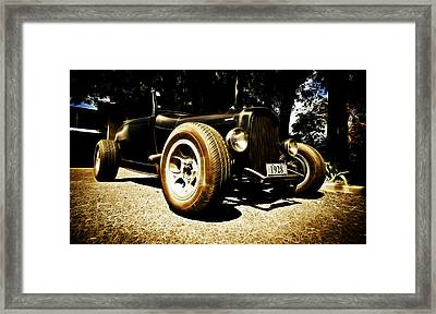 1928 Ford Model A Rod Framed Print by Phil 'motography' Clark