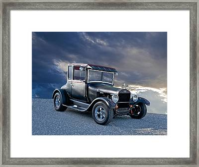1928 Ford 'tall T' Coupe Framed Print