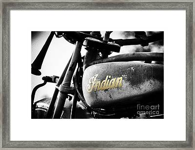 1928 Indian 101 Scout Framed Print