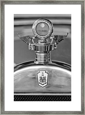 1928 Pierce-arrow Hood Ornament 2 Framed Print by Jill Reger