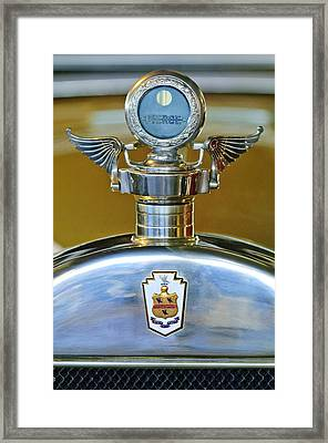 1928 Pierce-arrow Hood Ornament Framed Print by Jill Reger