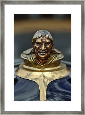1928 Pontiac Hood Ornament  Framed Print
