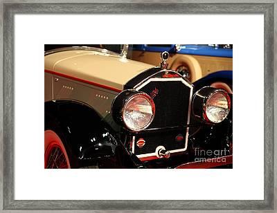 1928 Stearns Knight F-6 Roadster 5d26809 Framed Print