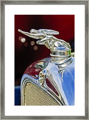 1928 Studebaker Hood Ornament 2 Framed Print by Jill Reger