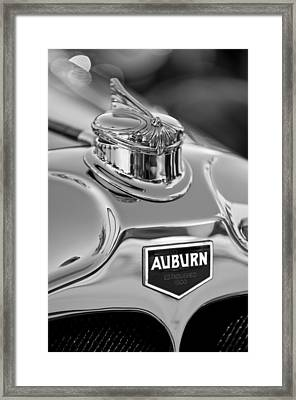 1929 Auburn 8-90 Speedster Hood Ornament 2 Framed Print by Jill Reger