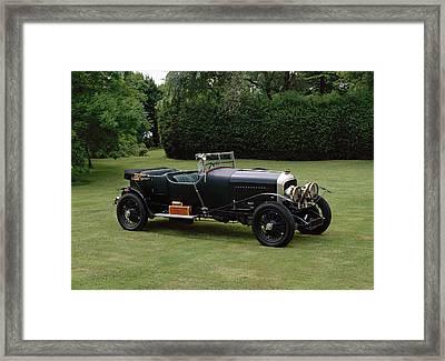 1929 Bentley 4.5 Litre Mulliner Tourer Framed Print