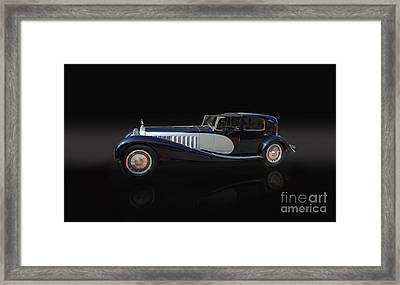 1929 Bugatti Type 41 Royale Framed Print