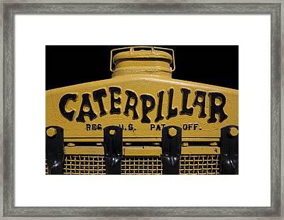 1929 Caterpillar Baby Dozer Grill Framed Print by Daniel Hagerman