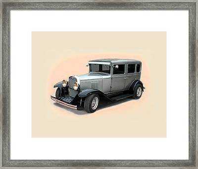 1929 Chevrolet Stovebolt Six Sedan Framed Print by Jack Pumphrey