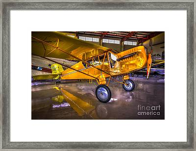 1929 Curtiss Robin Framed Print by Marvin Spates
