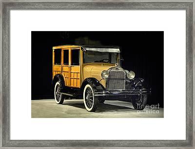 1929 Ford 150a Wagon Framed Print
