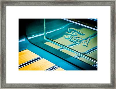 1929 Ford Roadster Pickup Truck -0158c Framed Print