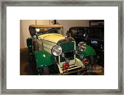 1929 Hudson Super Six Roadster 5d25594 Framed Print