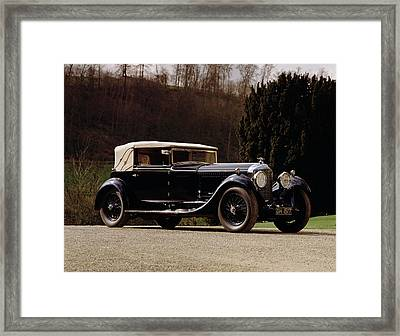 1930 Bentley 6.5 Litre Speed Six Framed Print