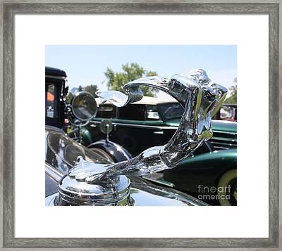 1930 Cadillac V-16 Imperial Limousine Hood Ornament Framed Print