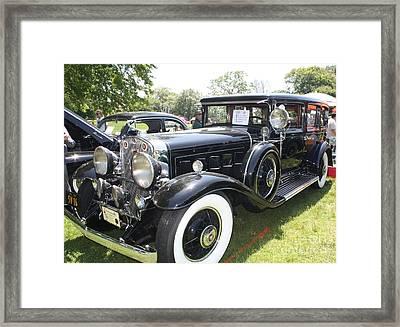 1930 Cadillac V-16 Imperial Limousine Framed Print