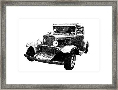 1930 Chevy Framed Print by Guy Whiteley