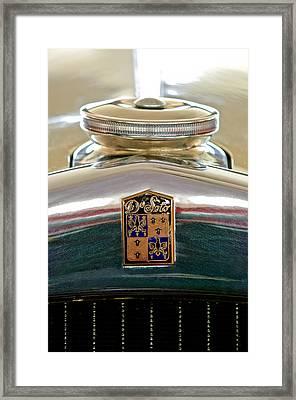 1930 Desoto K Hood Ornament Emblem Framed Print by Jill Reger