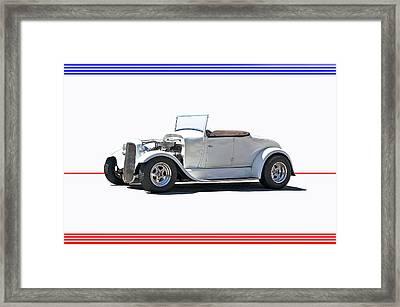 1930 Ford Model A Roadster I Framed Print by Dave Koontz