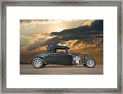 1930 Hudson Hot Rod Coupe II Framed Print by Dave Koontz