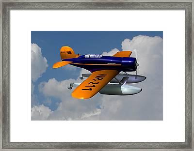 1930 Lockheed Model 8 Sirius Framed Print by Stuart Swartz