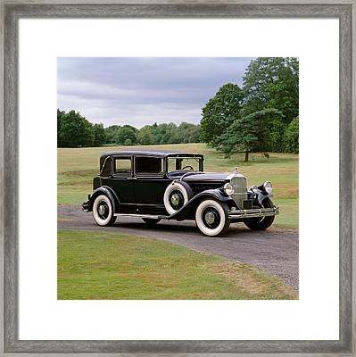 1930 Pierce Arrow Model 8 Four Door Framed Print